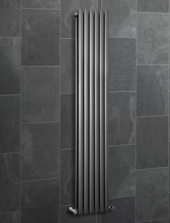 SP Ashford Designer Radiator Anthracite - 1800 x 360mm