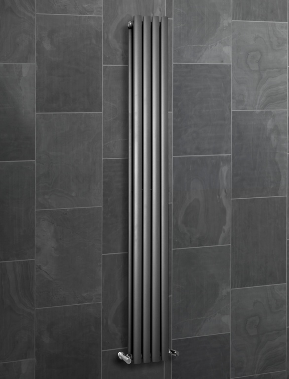 SP Ashford Designer Radiator Anthracite - 1800 x 240mm