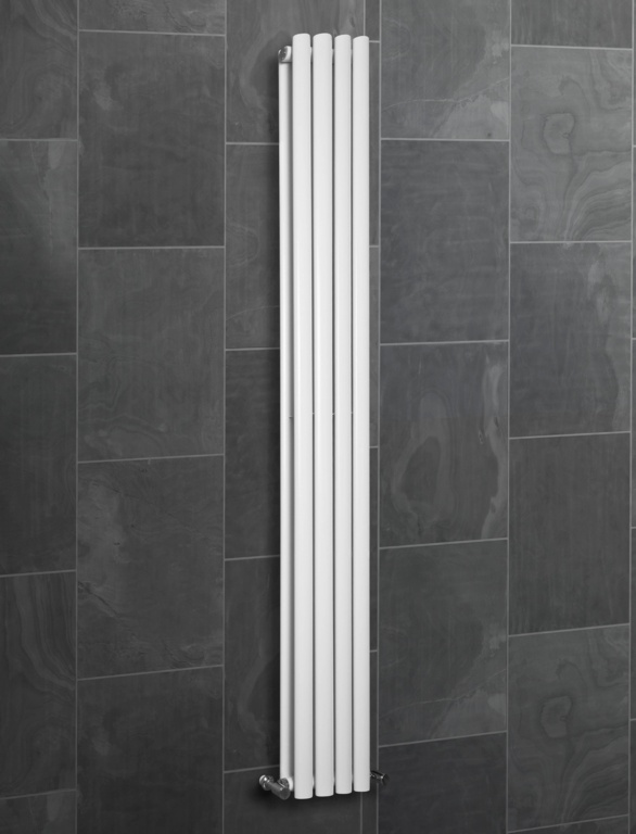 SP Ashford Designer Radiator White - 240mm x 1800mm