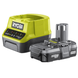 Ryobi 1 x 1.3Ah Lithium Battery And Charger