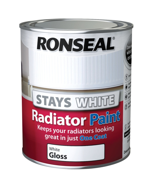 Ronseal One Coat Radiator Paint Gloss - 750ml