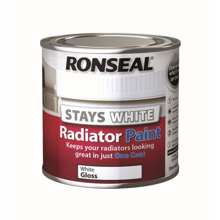 Ronseal One Coat Radiator Paint Gloss - 250ml