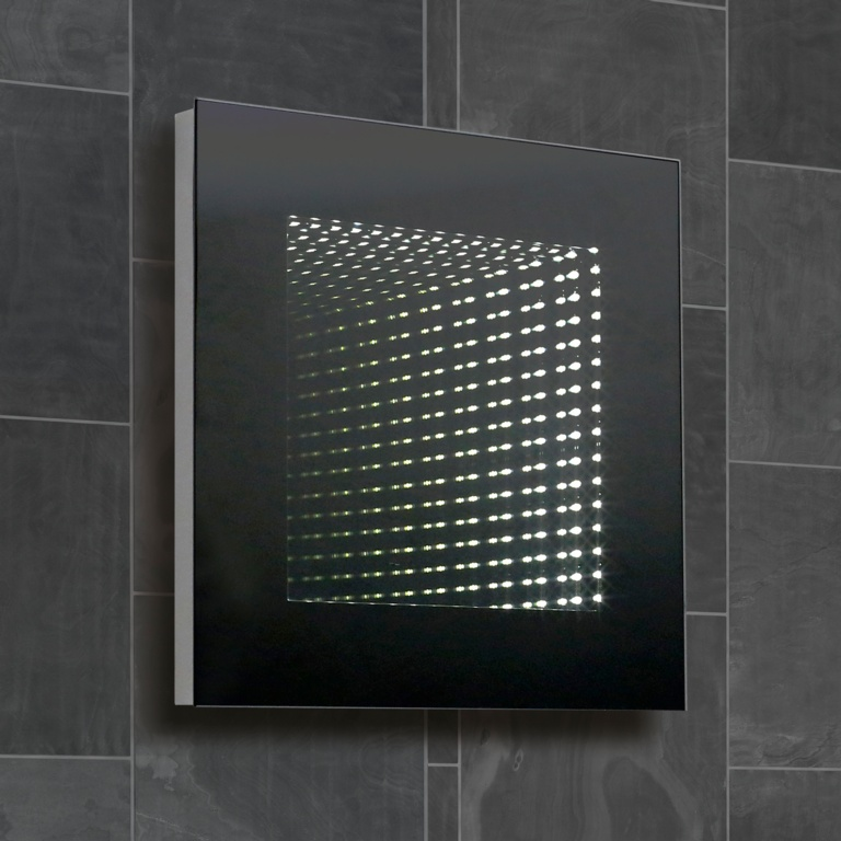 SP Knightley 3D Infinity Square Mirror - 500mm