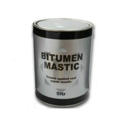 Rose Trowel Bitumen Mastic Black - 5L