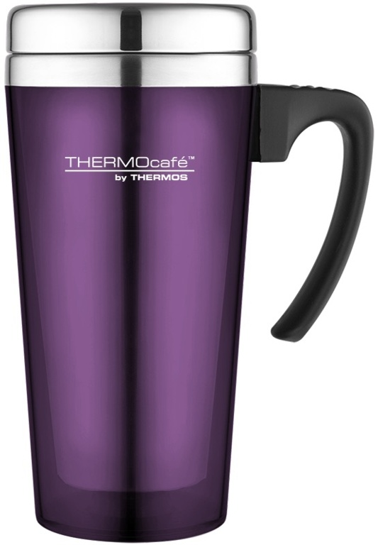 Thermos Thermocafe Trans Travel Mug - 420ml Purple