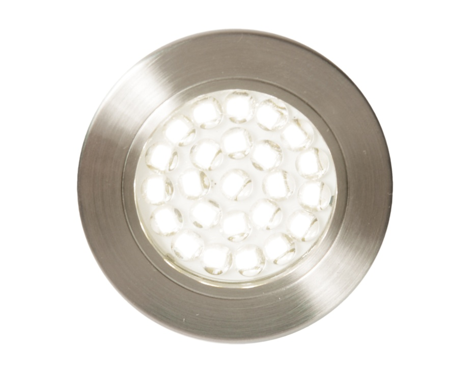 Culina Pozza LED Mains Voltage Circular Cabinet Light - 3000k Warm White