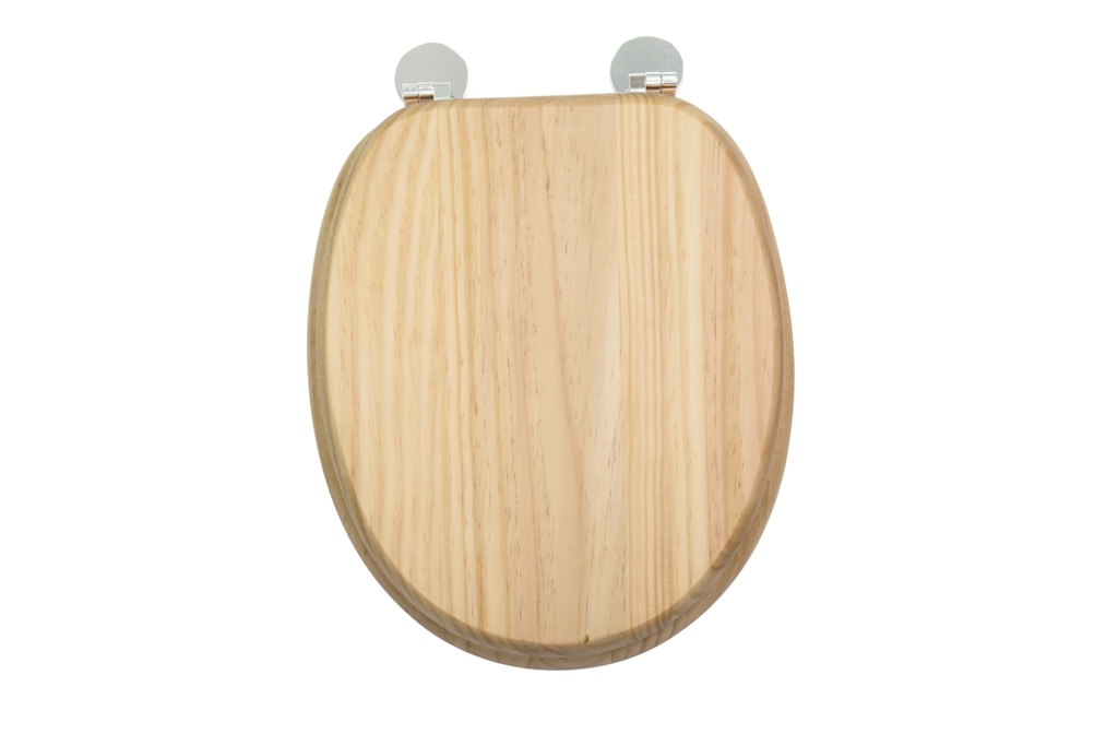 Croydex Flexi-Fix Toilet Seat - Davos Blonded Pine