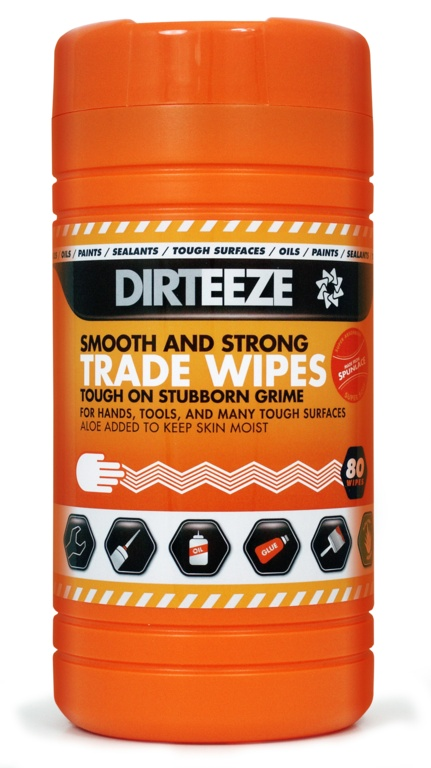 Dirteeze Smooth & Strong Trade Wipes - Pack 80