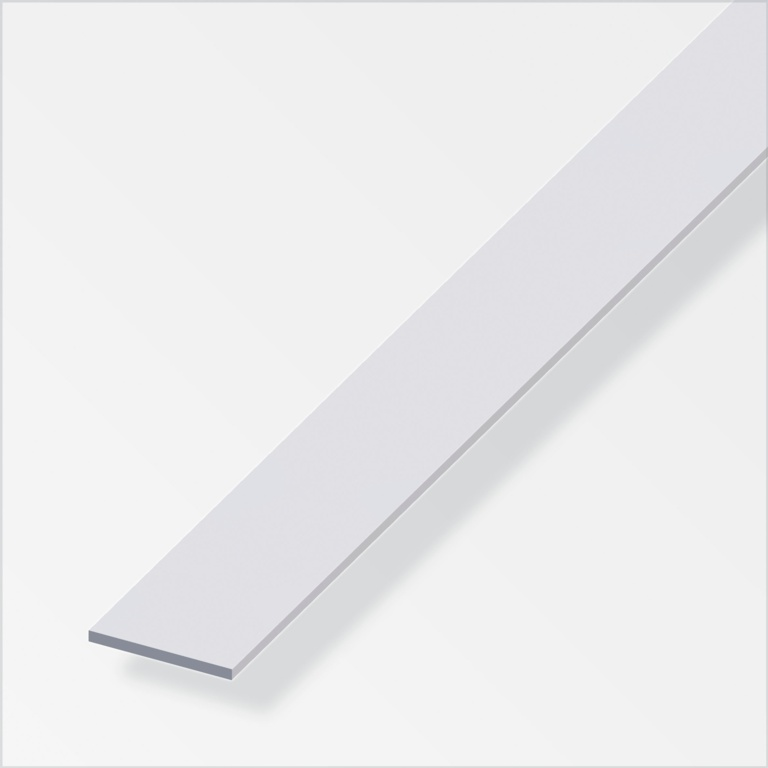 Alfer Flat Bar Anodised Aluminium - 20mm x 6mm x 1m