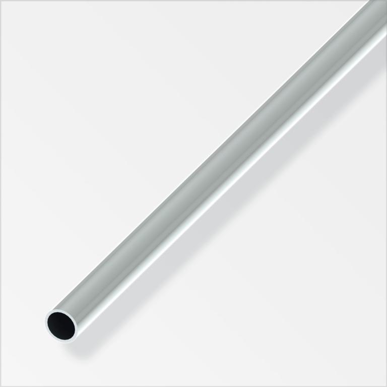 Alfer Aluminium Tube Chrome - 8mmx1m