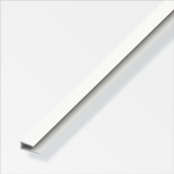 Rothley Edge Protection White Plastic 15mmx4mmx1m