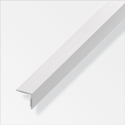 Rothley Equal Angle Grey Effect Plastic 20mmx20mmx1m