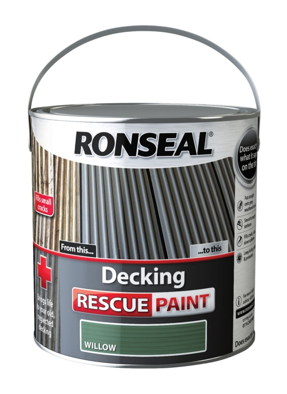 Ronseal Decking Rescue Paint 2.5L - Willow