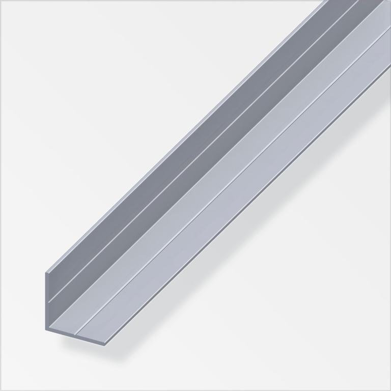 Alfer Angle Raw Aluminium - 15.5mm x 15.5mm x 2.5m