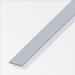 Rothley Flat Bar Uncoated Aluminium 19.5mmx1m