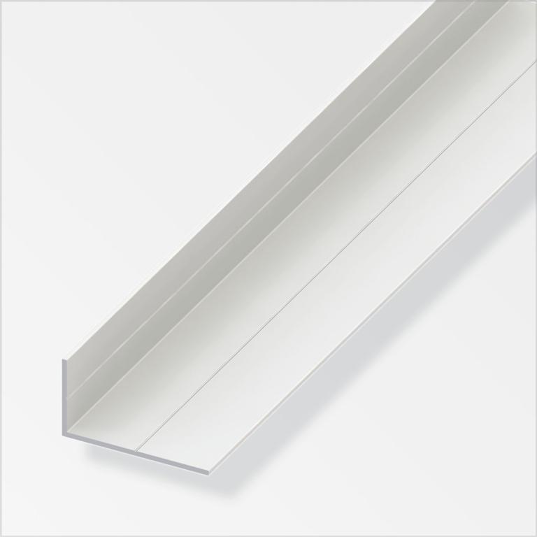 Alfer Angle White PVC - 15.5mmx27.5mmx1m