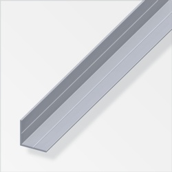 Rothley Equal Angle Uncoated Aluminium 11.5mmx11.5mmx1m