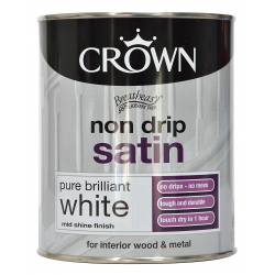 Crown Non Drip Satin 750ml