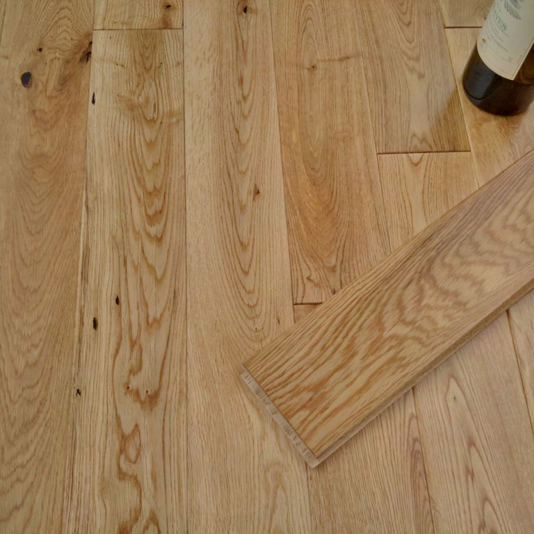 Y.T.D Limited Wide Thick Solid Oak Flooring 1.08m2 - RANDOM LENGTH x 90mm x 18mm