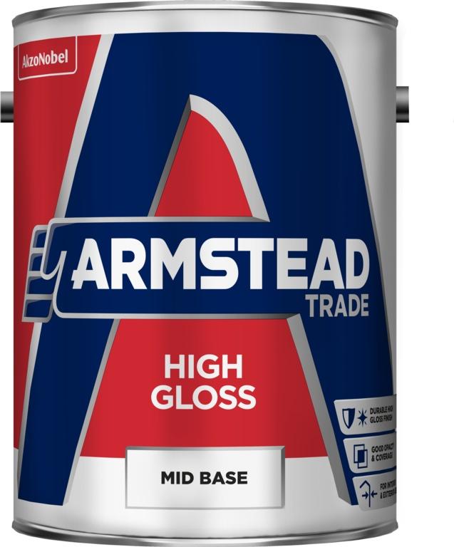 Armstead Trade High Gloss Mid Base - 5L