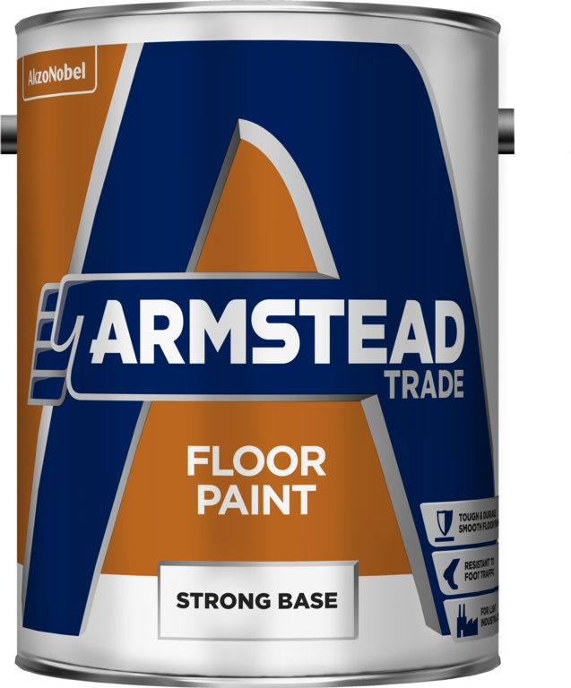 Armstead Trade Floor Paint - 5L Strong Base