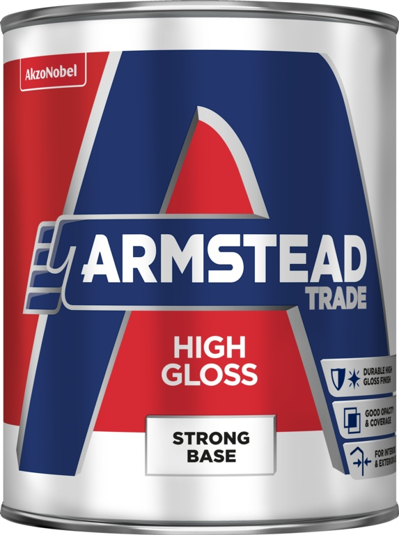 Armstead Trade High Gloss Strong Base - 5L