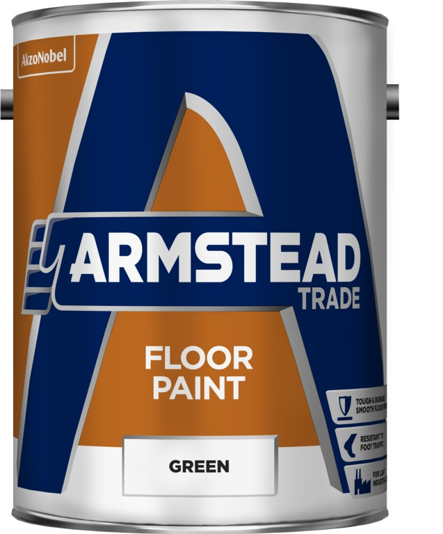 Armstead Trade Floor Paint - 5L Green