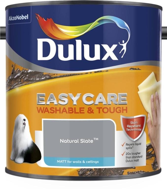 Dulux Easycare Matt 2.5L - Natural Slate