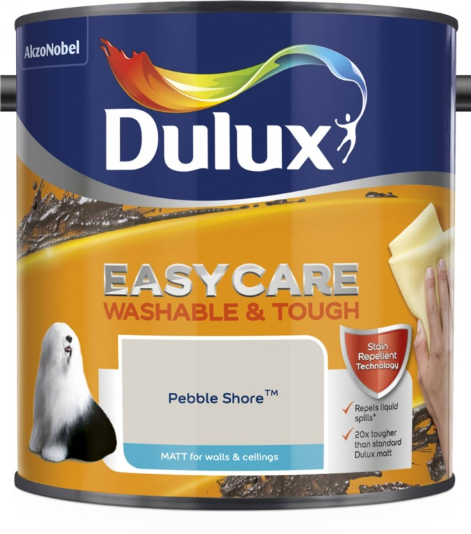 Dulux Easycare Matt 2.5L - Pebble Shore