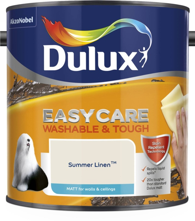Dulux Easycare Matt 2.5L - Summer Linen