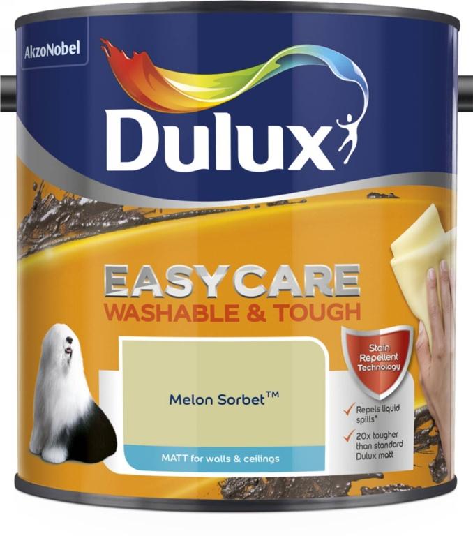 Dulux Easycare Matt 2.5L - Melon Sorbet