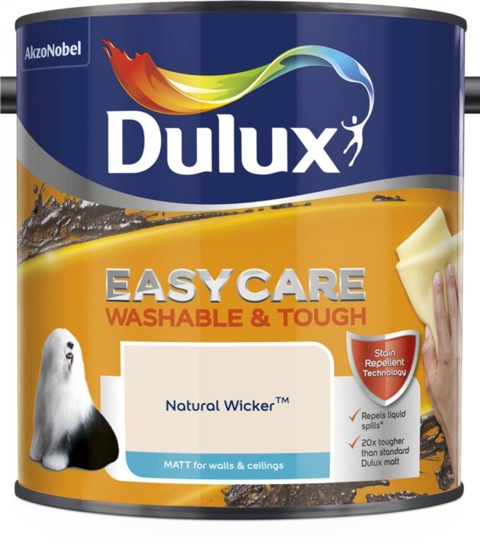 Dulux Easycare Matt 2.5L - Natural Wicker