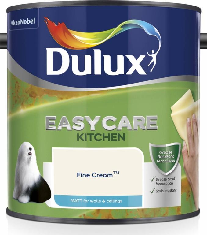 Dulux Easycare Matt 2.5L - Fine Cream