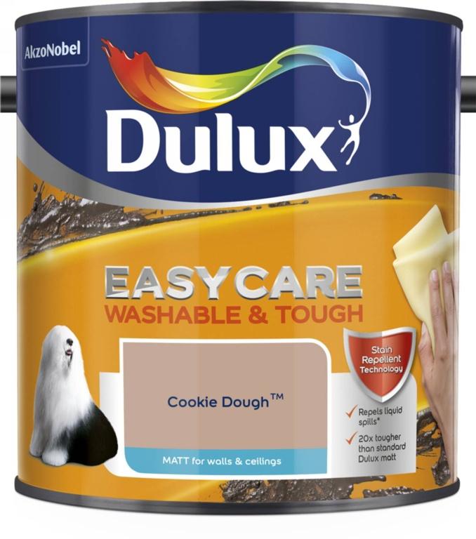 Dulux Easycare Matt 2.5L - Cookie Dough