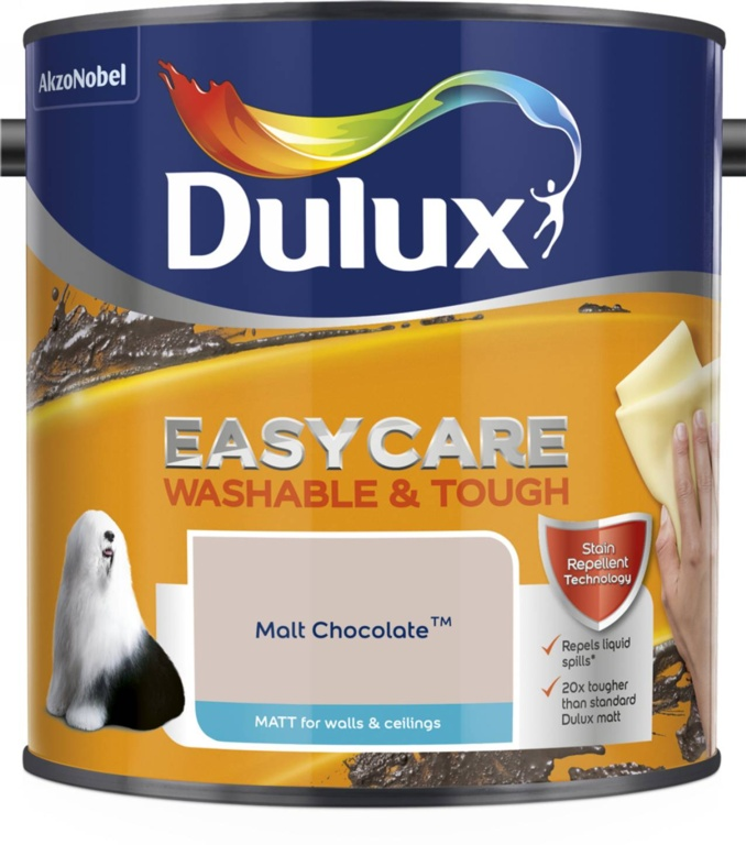 Dulux Easycare Matt 2.5L - Malt Chocolate