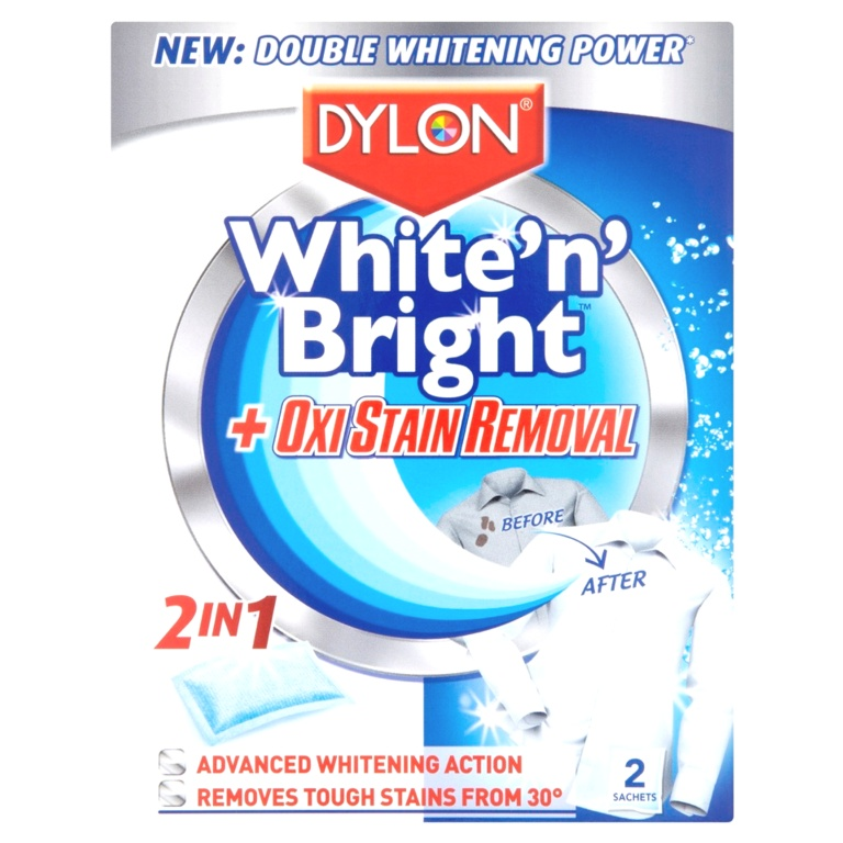 Dylon White Bright Oxi - 2 Sachet
