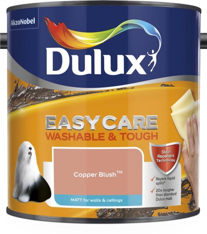 Dulux Easycare Matt 2.5L - Copper Blush