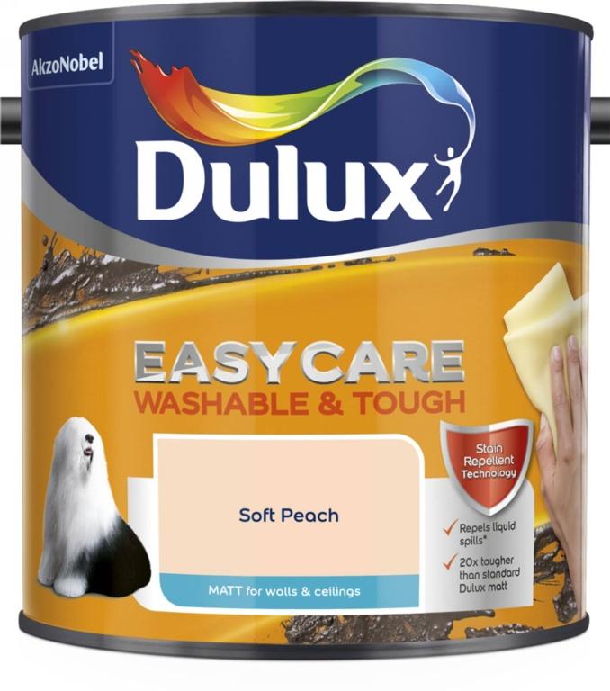 Dulux Easycare Matt 2.5L - Soft Peach