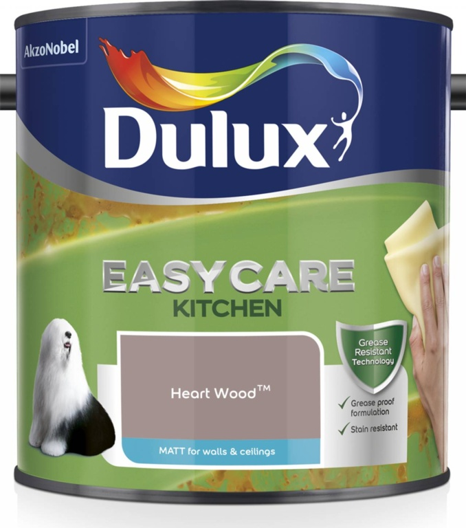 Dulux Easycare Kitchen Matt 2.5L - Heart Wood