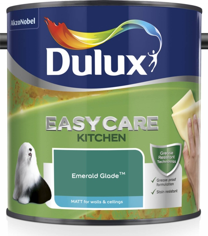 Dulux Easycare Kitchen Matt 2.5L - Emerald Glade