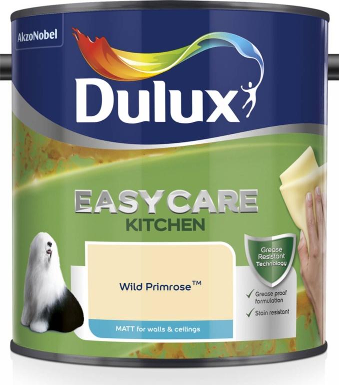 Dulux Easycare Kitchen Matt 2.5L - Wild Primrose