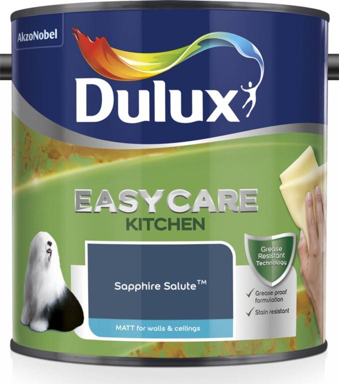 Dulux Easycare Kitchen Matt 2.5L - Sapphire Salute