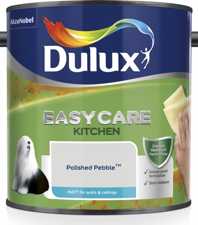 Dulux Easycare Kitchen Matt 2.5L - Polished Pebble