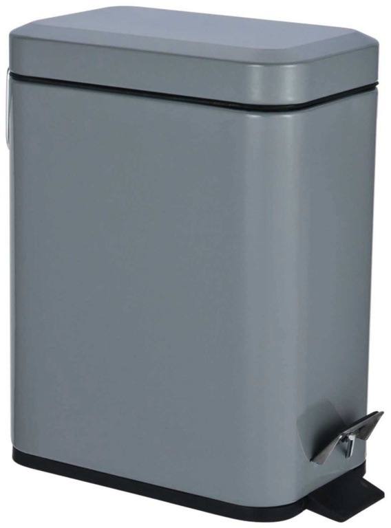 Blue Canyon Axus Rectangular Pedal Bin - Slate 5L