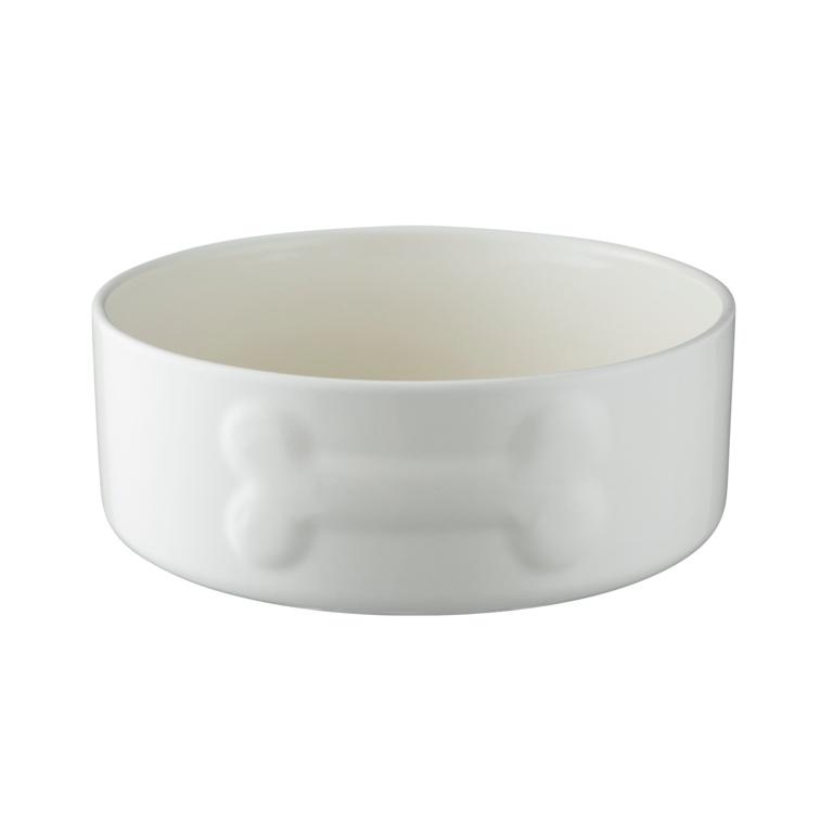 Mason Cash Colour Mix Dog Bowl - 20cm Cream