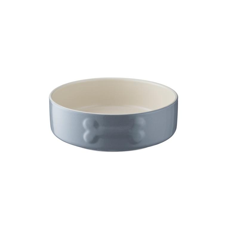 Mason Cash Colour Mix Dog Bowl - 15cm Grey