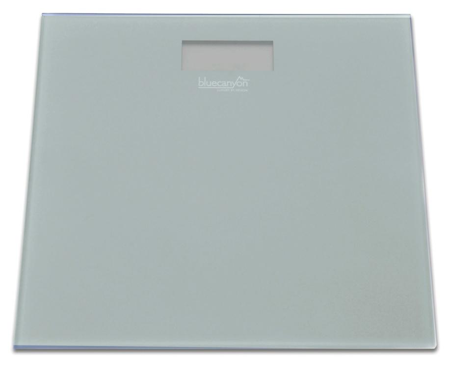 Blue Canyon S Series Digital Bathroom Scale - Slate