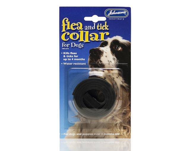 Johnsons Flea & Tick Collar - For Dogs