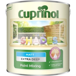 Cuprinol Garden Shades Extra Deep Matt Paint Mixing