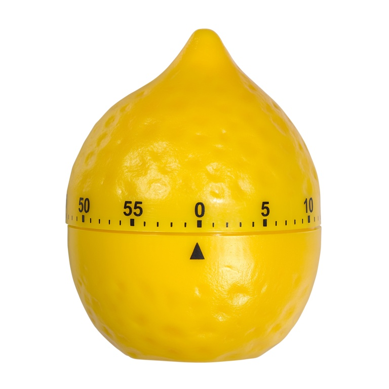 Tala Novelty Lemon shaped mechanical timer